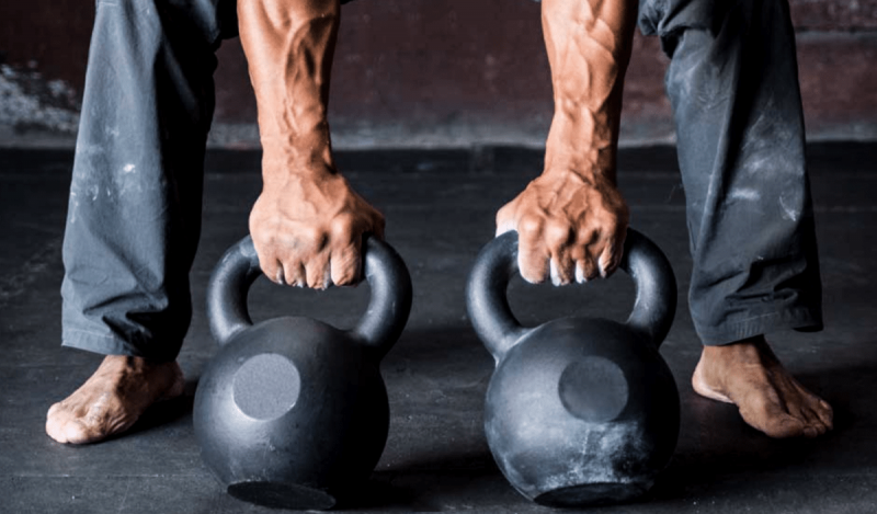 kettlebell workouts. Kettlebell exercises.